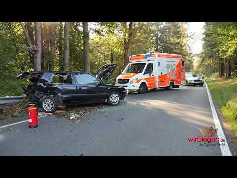 Zwei Verletzte nach schweren Verkehrsunfall zwischen Alchen und Bühl