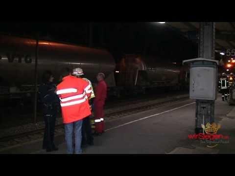 Tödlicher Unfall – 36-Jähriger vom Zug erfasst