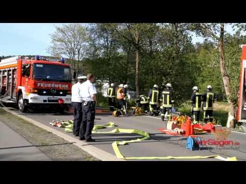 Zwei Schwerverletzte nach Unfall bei Wenden-Rothemühle