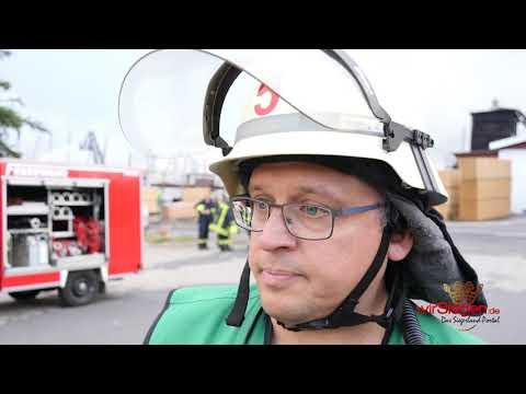 Großbrand in Langenbach: Sägewerk brennt lichterloh