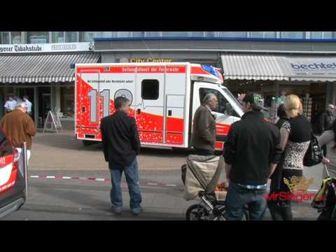 Siegen: Messerstecherei am Bahnhof – Lebensgefahr