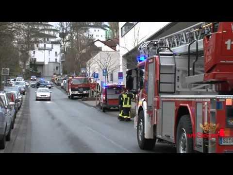 Feuer-Alarm im St. Marien-Krankenhaus Siegen