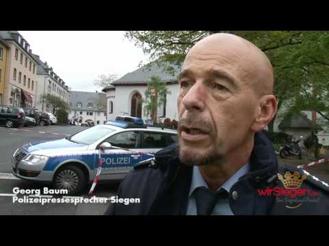 Siegen: Schüsse in Nikolai Kirche – SEK überwältigt bewaffneten Mann