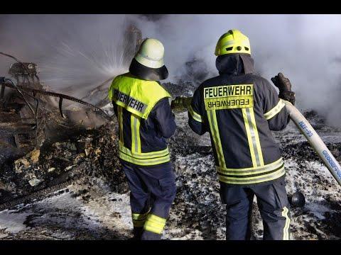 Skihütte in Neunkirchen wurde Raub der Flammen - Brandstiftung sehr wahrscheinlich