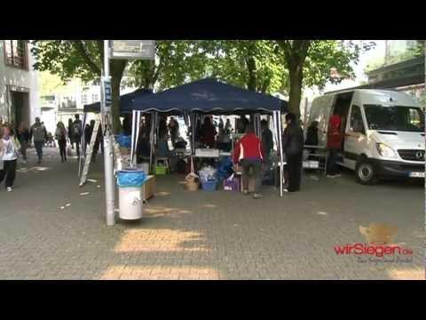 """Siegen: Vermummte stürmen Stand der """"Pro-Israel-Initiative"""""""