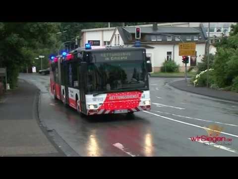 Unwetter über Panorama-Park – Erster Einsatz für VWS-Rettungsbus
