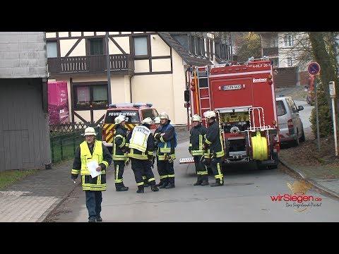ABC-Alarm in Bad Berleburg - Feuerwehr im Großeinsatz (Bad Berleburg/NRW)