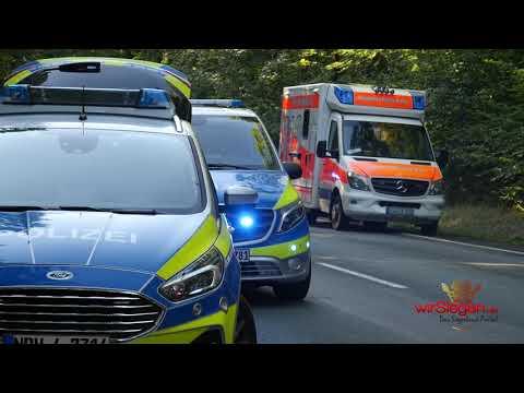 Tödlicher Verkehrsunfall in Wilnsdorf: Pkw kracht frontal in Linienbus