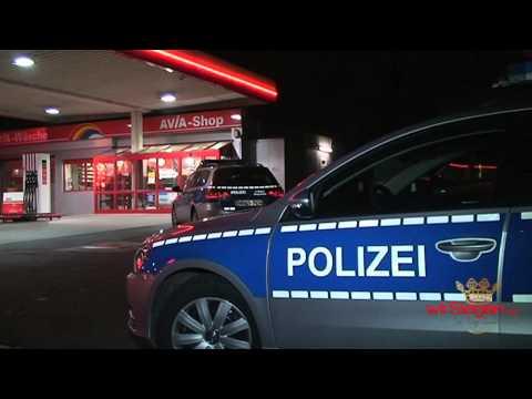 Bewaffneter Überfall auf Buschüttener Tankstelle