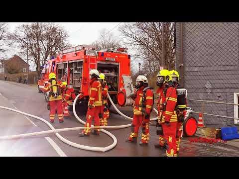 Altes Fachwerkhaus in Krombach brennt nieder