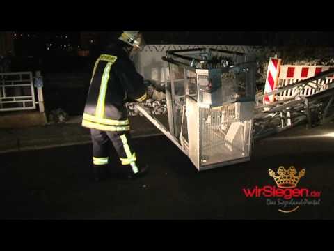 Feuerwehreinsatz in Siegen - verrauchtes Haus durch defektes Elektrogerät