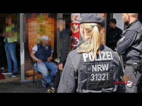 Großrazzia mit vier Festnahmen - Drogen in Umfeld von Imbiss verkauft (Siegen/NRW)