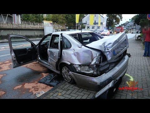 Überhöhte Geschwindigkeit führt zu folgenschweren Verkehrsunfall in Neunkirchen