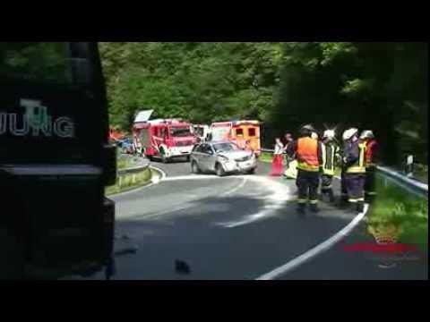Drei Leichtverletzte bei Unfall auf der B 508