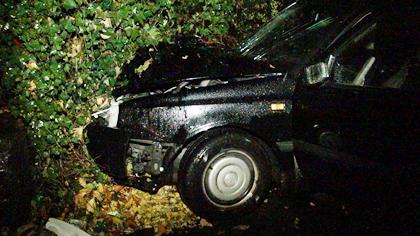 Unfall in Krombach: 3 Verletzte
