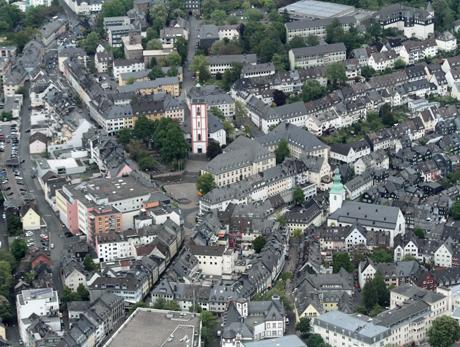 Stadt Siegen will Baulücken in der Innenstadt schließen (Archivbild: Kay-Helge Hercher)