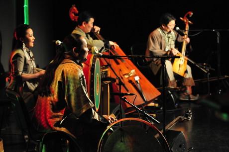 """Das mongolische Quartett """"Egschiglen"""" wurde vor mehr als 20 Jahren gegründet und kommt im September nach Siegen. (Foto: Veranstalter)"""
