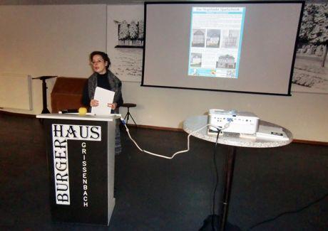 Professorin Dr. Petra Lohmann hielt einen Vortrag im Bürgerhaus in Netphen-Grissenbach. Fotos (3): Verein