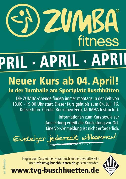 Das gesamte Übungsangebot des TV Germania Buschhütten ist zu finden unter www.tvg-buschhuetten.de. (Plakat: Verein)