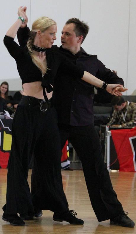 Jeannette Kremers und Holger Straub (Turnier 2014)