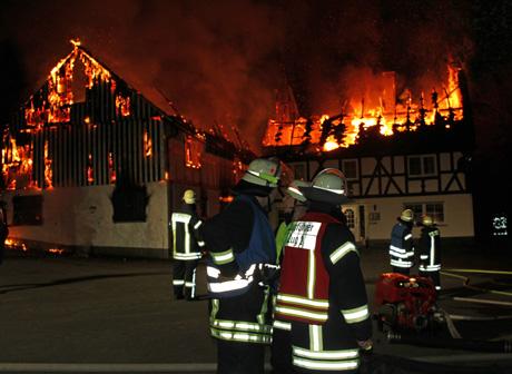 Wohnhausbrand-Schameder