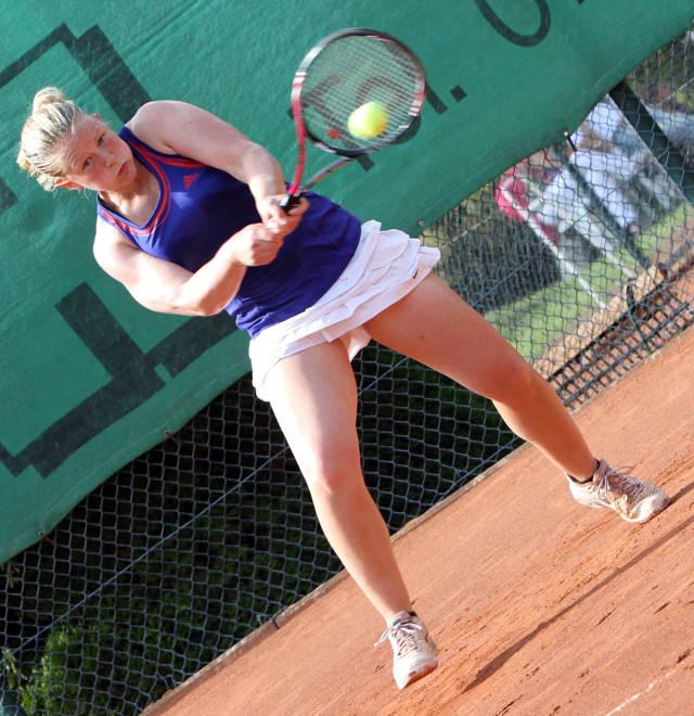 Katharina Fedler (LK 2, TV Warendorf, Siegerin Damen 2014)