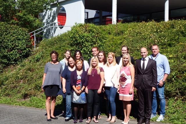 11 neue Lehrerinnen und Lehrer in ihr Amt eingeführt und vereidigt. (Foto: Gemeinde Neunkirchen)