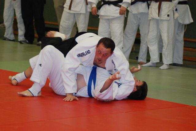 Marcell Meyer mit einer zuverlässigen Vorstellung nach seiner langen Verletzung. (Foto: Judofreunde)