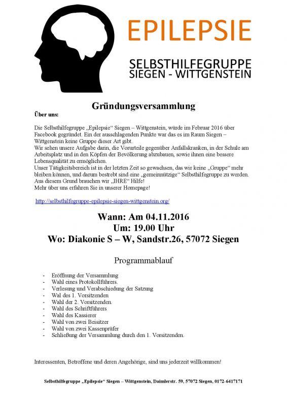 2016-10-18_siegen_gruendungsversammlung-der-selbsthilfegruppe-epilepsie-siegen-wittgenstein_plakat_selbsthilfegruppe
