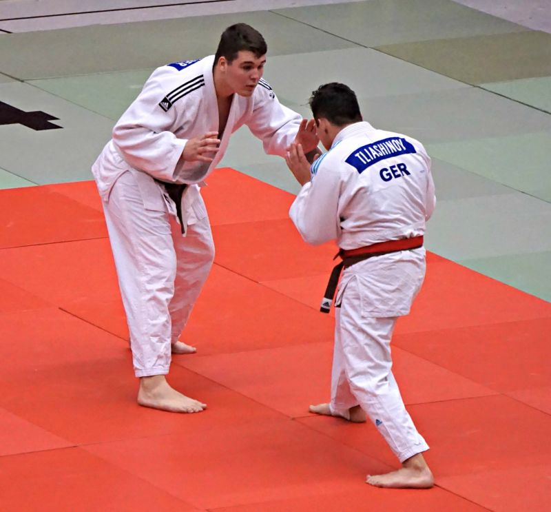 Judoka Jonas Schreiber zeigte sich in bester Verfassung (Fotos: privat)