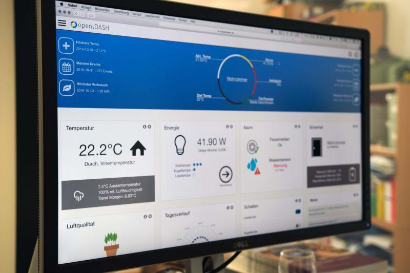 Mit einer einheitlichen Nutzeroberfläche wollen die Wissenschaftler der Uni Siegen es Technikmuffeln erleichtern, im Smart Home zu leben.