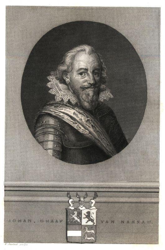 """Johann VII. """"der Mittlere"""" Graf zu Nassau-Siegen (1561-1623). (Vorlage: Stadtarchiv Siegen)"""