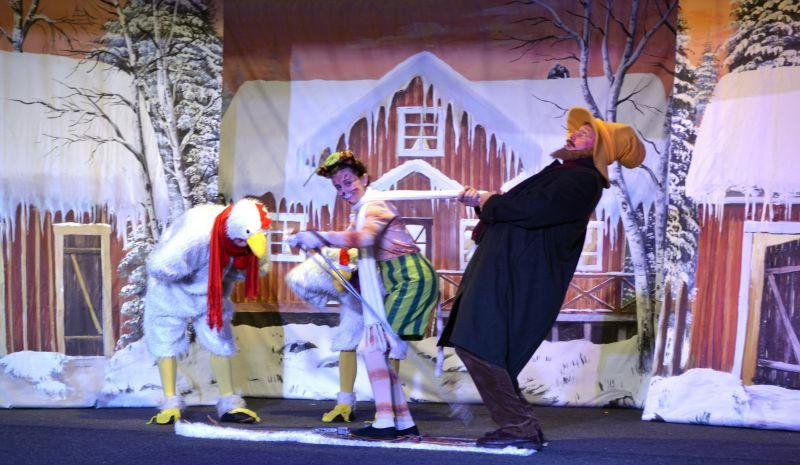 """Das Kimugi-Theater zeigt in diesem Jahr """"Morgen, Findus, wird´s was geben"""". (Foto: Veranstalter)"""