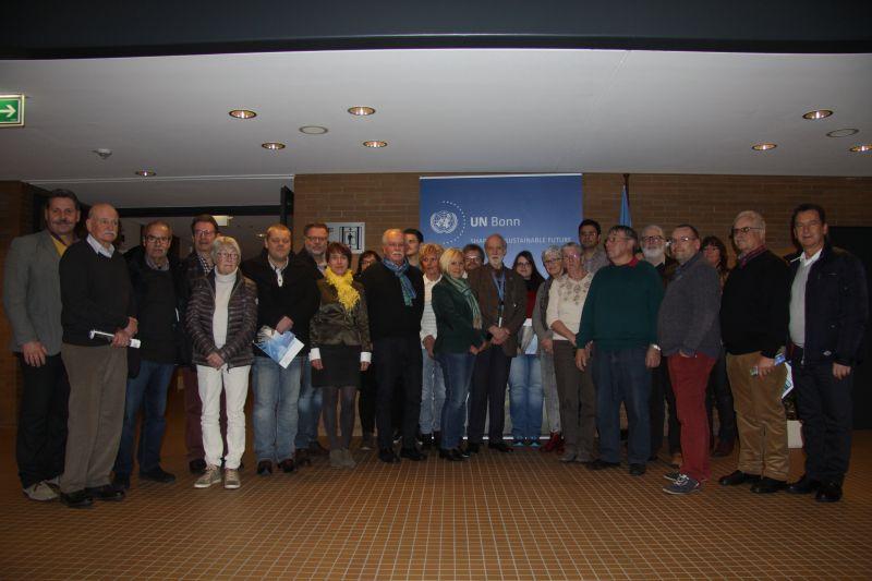 """Im Rahmen einer Seminarreise besuchten die Freien Demokraten SiegenWittgenstein kürzlich unter anderem auch das """"Regionale Informationszentrum der Vereinten Nationen für Westeuropa (UNRIC)"""" in Bonn."""