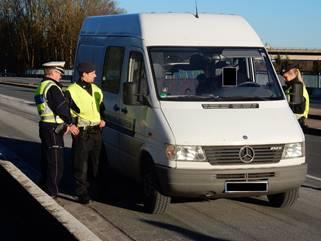Fahrzeug- und Personenkontrolle