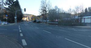 Verkehrssituation in der Hilchenbacher Stadtmitte. Foto: Stadt Hilchenbach