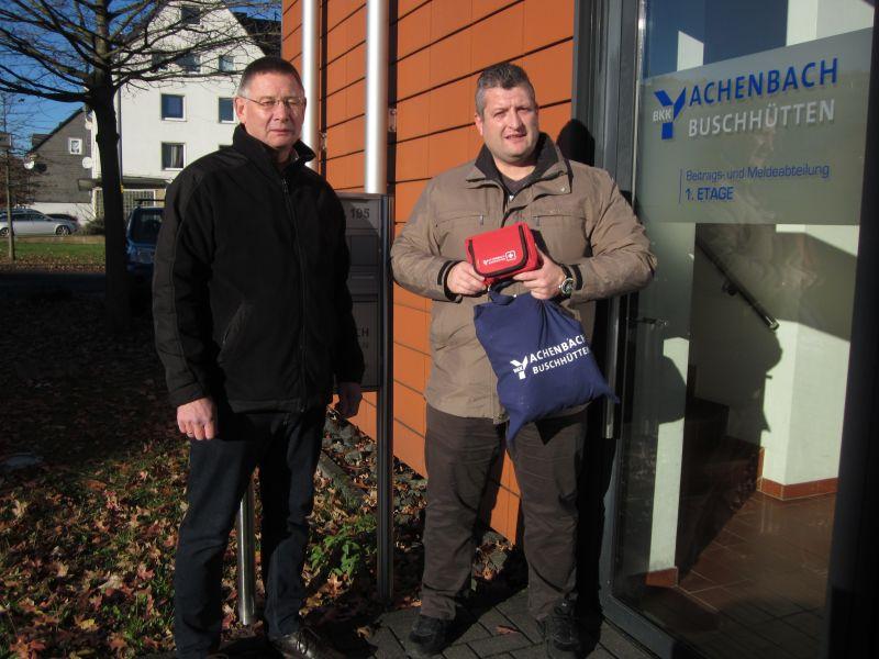 SGV-Abteilung Buschhütten erhält Erste-Hilfe-Päckchen (Foto: privat)