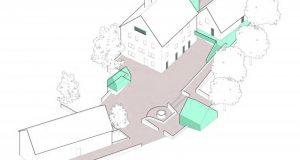 Der Entwurf von Swen Geiß, Büro Team 51,5° Architekten aus Wuppertal, fand den einstimmigen Zuspruch des Rates, wenngleich nun weiter am Konzept gefeilt werden muss. (Grafiken: Architekturbüro)