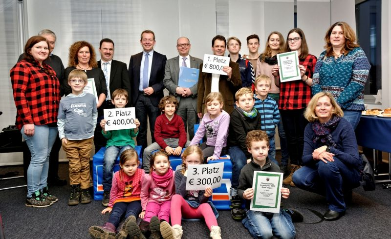 Anerkennung für engagierte (Nachwuchs-)Naturschützer (Foto: Stadt Siegen)