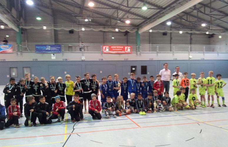 Kickers Offenbach Sieger des 5. Bürbacher Hallenmasters (Foto: SpVg. Bürbach)