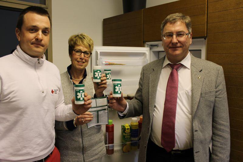 """""""Rettung aus der Dose"""" – Notfalldose ab sofort erhältlich (Foto: Stadt Netphen)"""