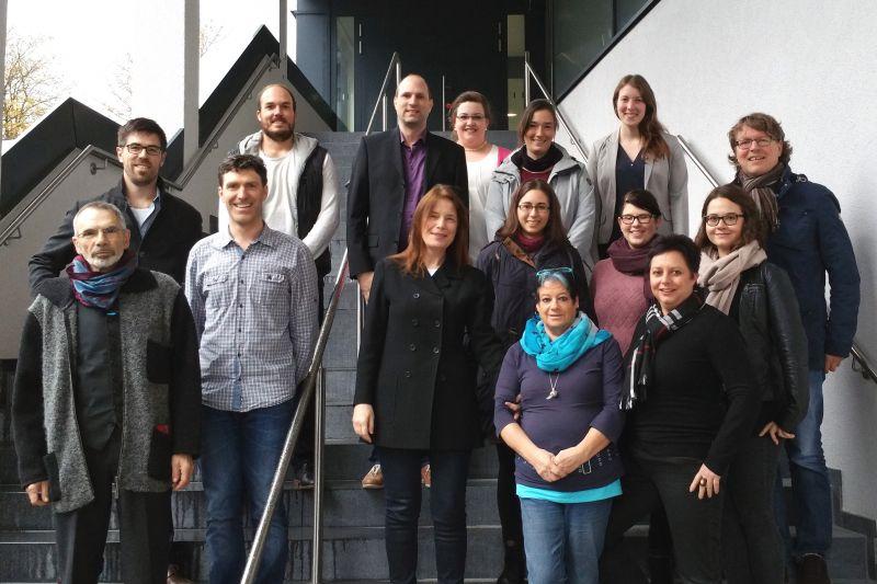 """Das Team des neu gegründeten """"Instituts für Psychologie"""" an der Universität Siegen. (Fotos: Uni)"""