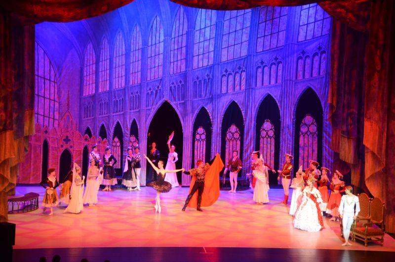 """""""Schwanensee"""" – die Inkarnation des klassischen Balletts (Foto: Veranstalter)"""