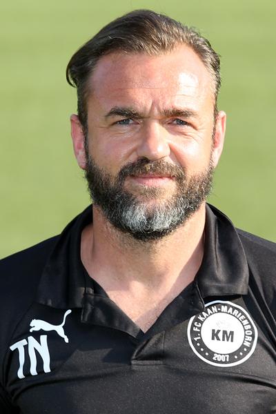 Trainer Thorsten Nehrbauer (KM) Fussball Oberliga Westfalen, Einzelfoto, 1. FC Kaan-Marienborn, am 25.07.2016 in Kaan-Marienborn/Deutschland.