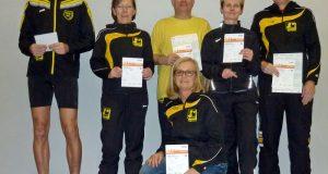 v. l.: Henning Sohler, Elke Stötzel, Sigrid Menn, Horst Schneider, Carola Schmitt, Meinhard Menn (Foto: Verein)