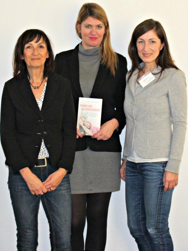 v.l.: Martina Böttcher, Dr. Alexandra Widmer und Martina Kratzel