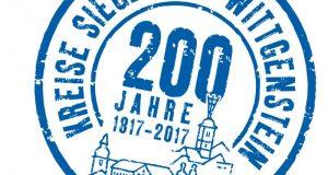 Logo 200 Jahre Kreise Siegen und Wittgenstein