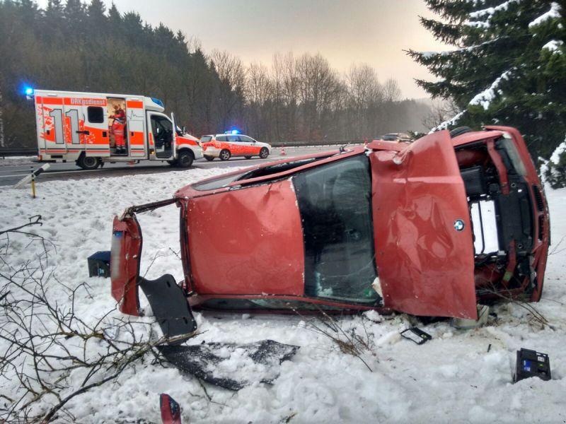 PKW-Überschlag-A45-Wilnsdorf-Haiger1