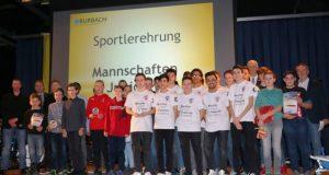 Die erfolgreichsten Juniorenmannschaften wurden jetzt bei der Sportlerehrung der Gemeinde Burbach und des Gemeindesportverbandes Burbach ausgezeichnet.