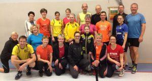 Teilnehmergruppe des High Intensity Trainings. (Foto: Verein)
